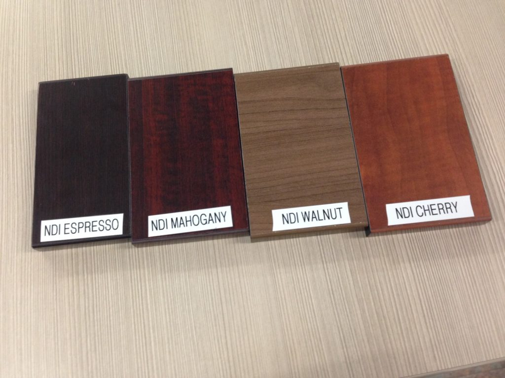 Performance Furniture Laminate Samples